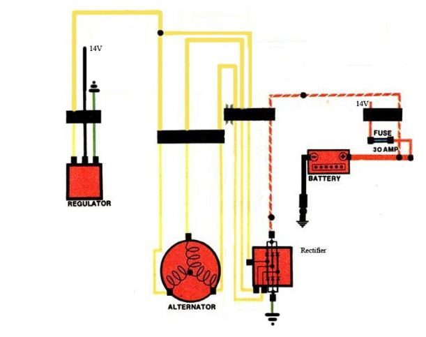 Ignition_elec_diagram comprehensive gl1000 charging system troubleshooting randakk's blog gl1000 wiring diagram at nearapp.co