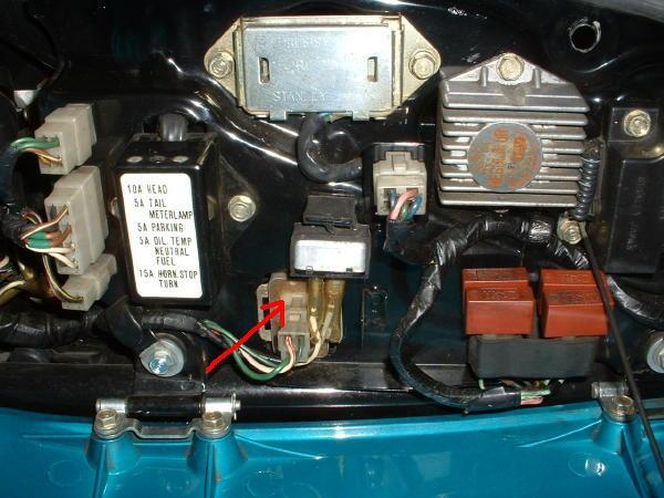 gl1000 wiring harness 7 volt regulator problems randakk s blog  7 volt regulator problems randakk s blog