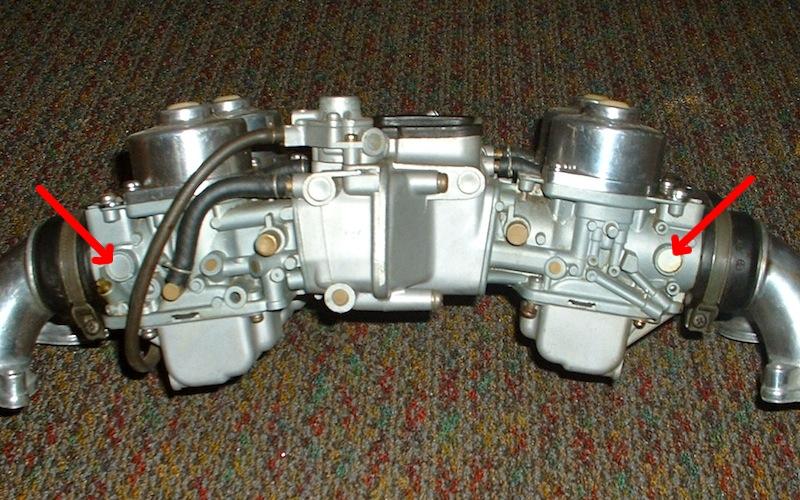 GL1000 Throttle Shaft Plugs