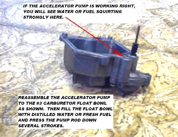 Accelerator Pump Assembly