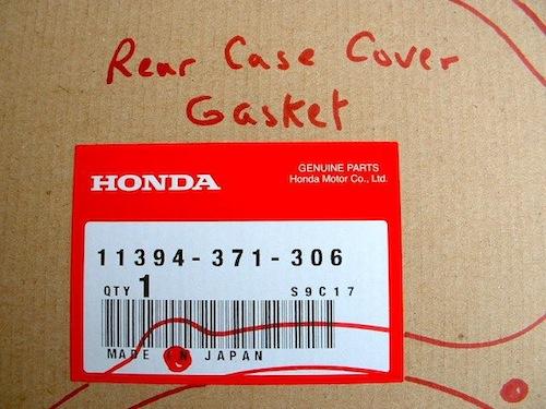 Rear Case Cover Gasket Number