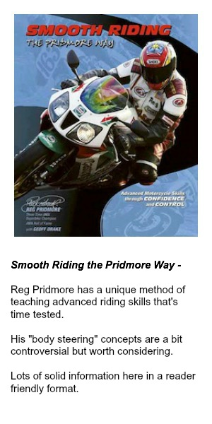 Smooth Riding the Pridmore Way