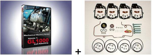 Randakks GL1000 Carb Kit Video Combo